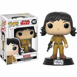 Funko POP! Movies Star Wars The Last Jedi Rose Vinyl Figure