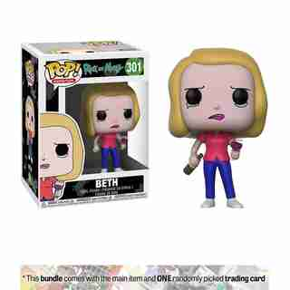 Funko POP! Animation R&M S3 Beth w/ Wine Glass Styles May Vary