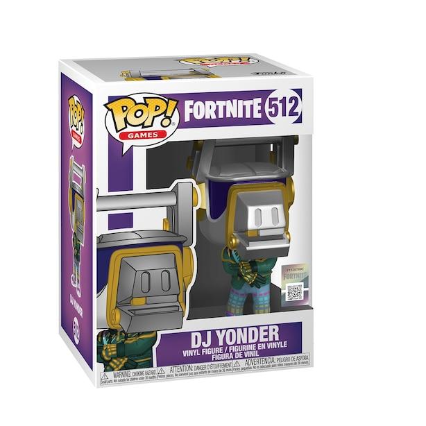 Funko POP! Video Games: Fortnite - DJ Yonder