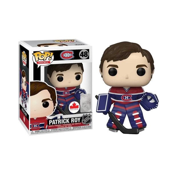Patrick Roy Funko NHL Canadian Exclusive w/ Stanley Cup Chase