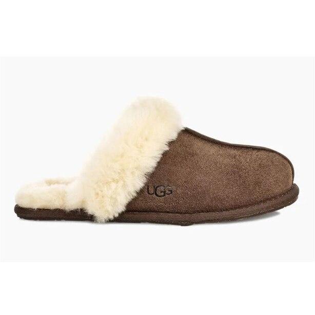 UGG® Women's Scuffette II Slipper - Black/Grey, Size 6