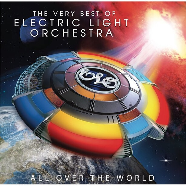 ELECTRIC LIGHT ORCHESTRA (ELO) - ALL OVER THE WORLD - VINYL