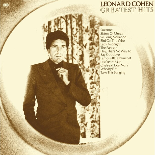 LEONARD COHEN - GREATEST HITS - VINYL