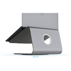 mStand 360 Swivel Laptop Stand - Space Grey