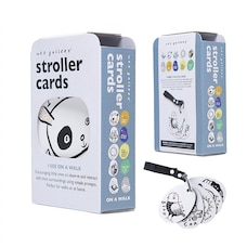 Wee Gallery® Toy Stroller Cards I See On a Walk