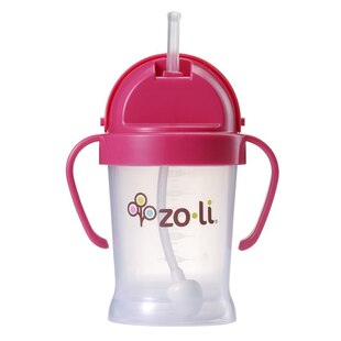 Bot Sippy Cup Pink 6oz