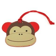 Skip Hop Zoo Luggage Tag, Monkey