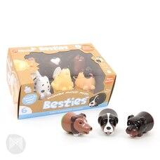 Micador Besties Marker Mates Puppy 6-Pack