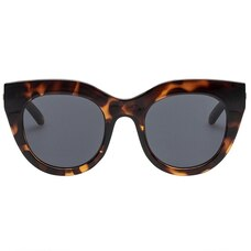 LE SPECS AIR HEART SUNGLASSES - TORT SMOKE MONO