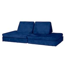 Huddle - Nautical Navy, Modular Foam Couch