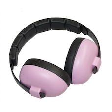 BANZ Earmuffs Infant Hearing Protection – Ages 0-2 Years  - Petal Pink