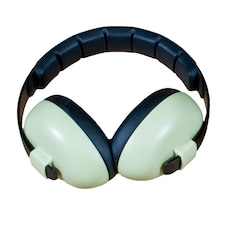 BANZ Earmuffs Infant Hearing Protection – Ages 0-2 Years  - Leaf Green