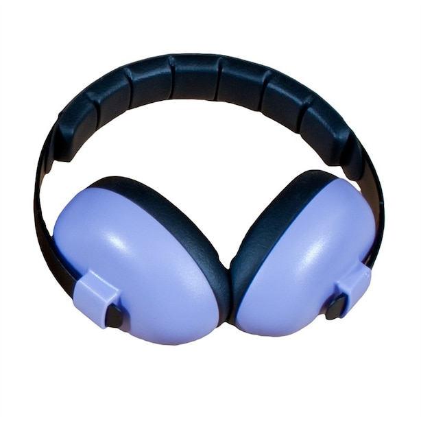 BANZ Earmuffs Infant Hearing Protection – Ages 0-2 Years  - Orchid