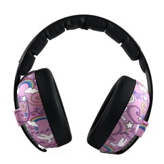 Banz® Noise Protection Baby Earmuffs Peace Doodle 0 to 2 Years