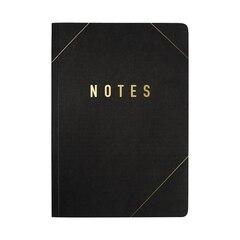 Kikki.K A5 Notebook Refill, Life Essentials - Black & Gold