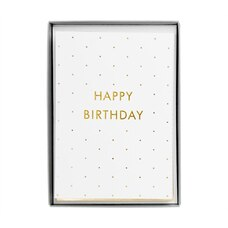 Kikki.K Birthday Card Time Is Now Set of 10