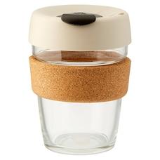 Tasse Keep Cup® Brew avec liège 12 oz – Blanc