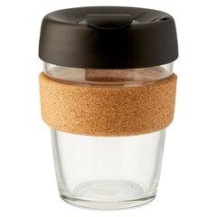 Tasse Keep Cup® Brew avec liège 12 oz – Noir
