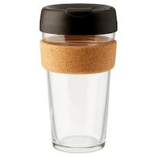 Tasse Keep Cup® Brew avec liège 16 oz – Noir