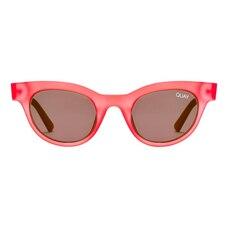 Quay X Kylie Star Struck Sunglasses - Red & Smoke