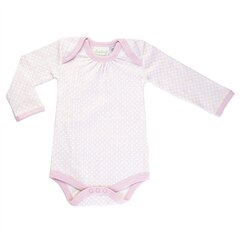 Dusty Pink Long Sleeve Bodysuit 0-3m