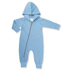 Dusk Blue Winter Zipsuit 3-6m