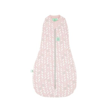 ErgoPouch® Cocoon Summer Baby Swaddle Bag 0.2 TOG Spring Leaves 0 to 3 Months