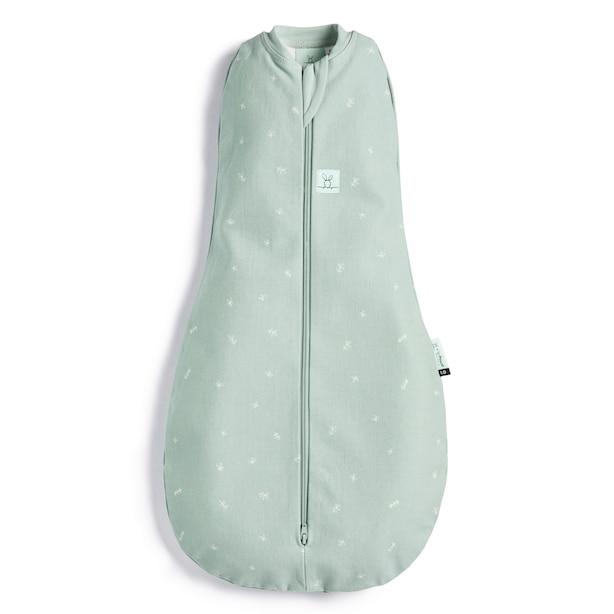 ergoPouch Organic Cotton Swaddle Sleep Sack 0.2 TOG - Sage Baby Size 0-3 months