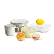 Reusable Stretch Silicone Lids Set of 6