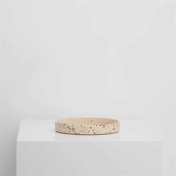 Capra Designs Medium Terrazzo Tray Salt
