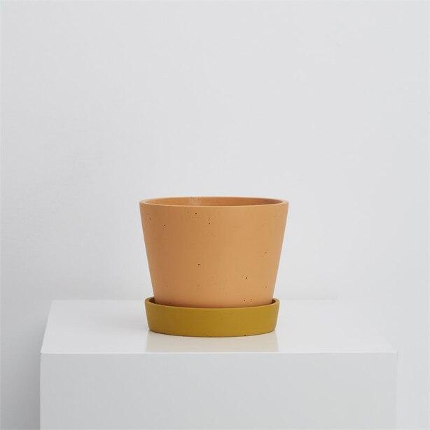 Capra Designs Louise Plant Pot Desert Golden