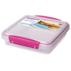 SANDWICH BOX TO GO 450ML, PINK