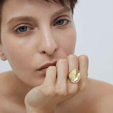 JENNY BIRD Mithras Ring - Gold, Size 7