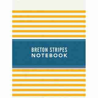 Breton Stripes Notebook - Sunny Yellow