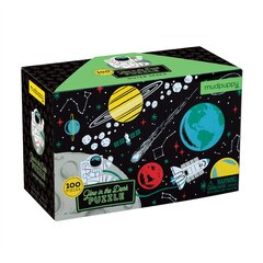 Glow In The Dark Outer Space Puzzle - 100 Pieces