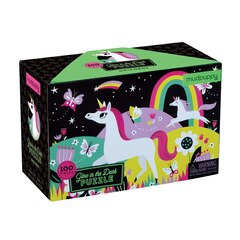 Glow In The Dark Unicorn Puzzle - 100 Pieces