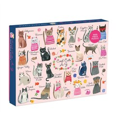 COOL CATS A-Z 1000 PC PUZZLE