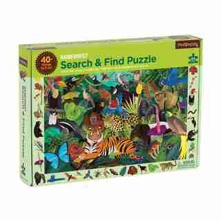 Puzzle -Forêt Tropicale Rechercher & Trouver