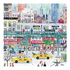 Michael Storrings NYC Subway Holiday Puzzle 500pcs