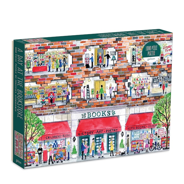 Puzzle - Michael Storrings' A Day at the Bookstore, 1000 pc