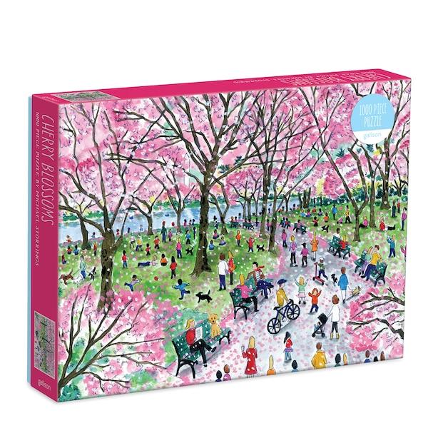 Puzzle - Michael Storrings' Cherry Blossoms, 1000 pc
