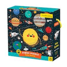 Puzzle (Géant) - Système Solaire, 25 pc