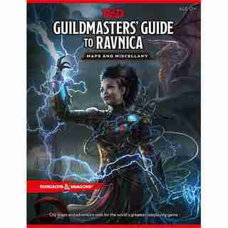Dungeons & Dragons Guildmasters' Guide to Ravnica Map Pack