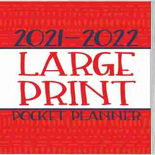 Large Print Pocket Planner