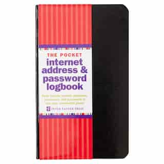 Internet Address & Password Pocket