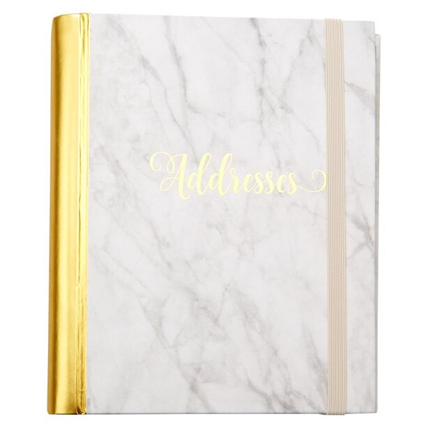Address Book Marble
