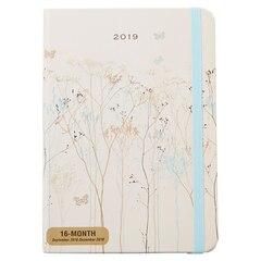 2018-2019 16-Month Agenda - Butterflies