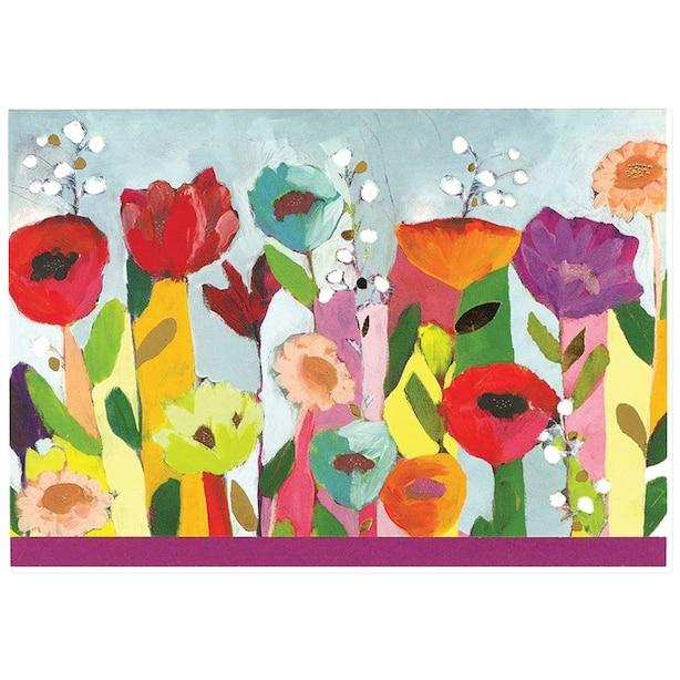 Notecards Brilliant Floral