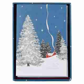 WINTER COTTAGE HOLIDAY BOXED CARDS
