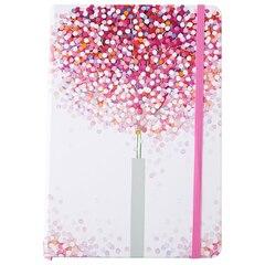 Dotted Matrix Notebook Lollipop Trees
